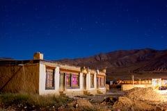 Nacht van Tingri-Provincie Royalty-vrije Stock Foto's