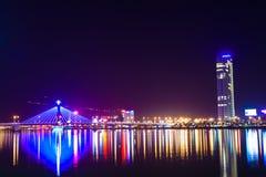 Nacht Vietnams Danang Lizenzfreies Stockbild