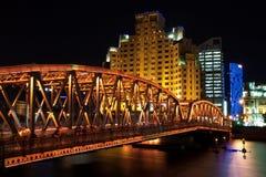 Nacht von Shanghai Lizenzfreie Stockfotografie
