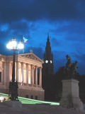 Nacht in Wenen Royalty-vrije Stock Foto's