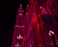Nacht Wenen Royalty-vrije Stock Foto