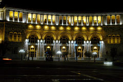 Nacht Yerevan Royalty-vrije Stock Afbeeldingen