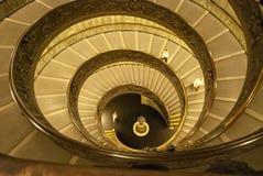 Nachtansicht der Marinelli-Treppe lizenzfreies stockfoto
