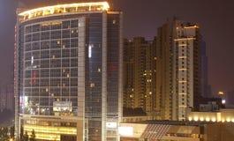 Nachtansicht der Stadt Lizenzfreie Stockfotografie