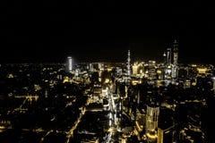 Nachtansicht des ¼ Œ Timelapse SHANGHAIS CHINAï stock video