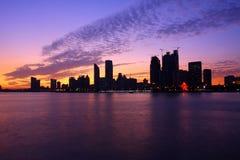 Nachtansicht innen von China Lizenzfreie Stockbilder