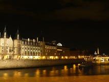 Nachtansicht Paris II Stockfotos