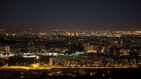 Nachtansicht vom Bologna stockfoto