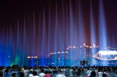Nachtansicht von Guangzhou stockfotos
