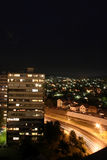 Nachtansicht von Kragujevac Lizenzfreies Stockfoto