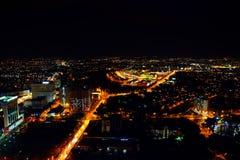 Nachtansicht von Malakka, Malaysia Lizenzfreie Stockfotografie