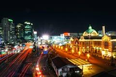 Nachtansicht von Seoul stockfotografie