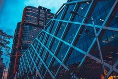 Nachtansicht von Sydney lizenzfreies stockfoto
