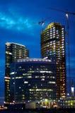 Nachtaufbau Lizenzfreies Stockfoto