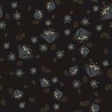 Nachtblumenhintergrund Stockfoto