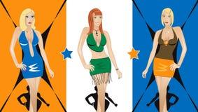 Nachtclub 2 vector illustratie