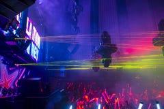 Nachtclub Royalty-vrije Stock Afbeeldingen