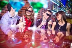 Nachtclub stock fotografie