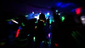 Nachtclub stock video