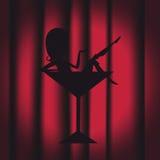 Nachtclub Lizenzfreies Stockbild