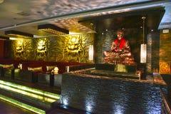 Nachtclub in Kolkata stock afbeeldingen