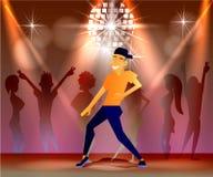 Nachtclub, partijen Mensen die Pret hebben Royalty-vrije Stock Foto