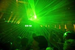 Nachtclub-Party-Hintergrund Stockbild