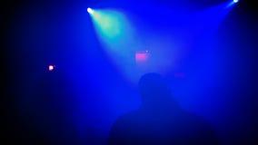 Nachtclubscène Stock Afbeelding