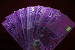 Nachtcontant geld Royalty-vrije Stock Afbeeldingen