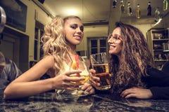Nachtdranken Royalty-vrije Stock Foto's