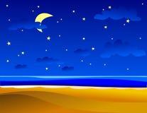 Nachtelijk stock illustratie