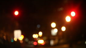 Nachtfahrerhaus stock video footage