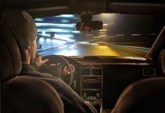 Nachtfahrt Lizenzfreie Stockfotos