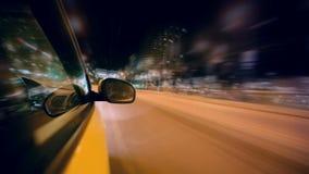 Nachtfahrt stock footage
