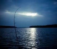 Nachtfischen Lizenzfreies Stockfoto