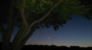 Nachtflits royalty-vrije stock afbeeldingen