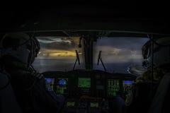 Nachtflug Lizenzfreies Stockfoto