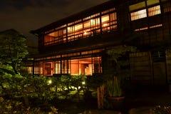 Nachtgebäude Stockbilder