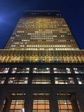 Nachtgebäude Stockfoto