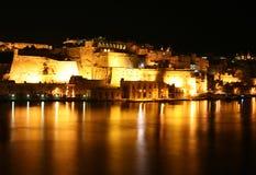 Nachtgroßartiger Hafen Lizenzfreies Stockbild
