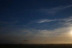 Nachthemel met achtergrond van de sterren de natuurlijke astronomie Stock Foto's
