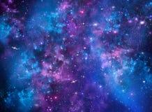 Nachthemel met sterren Stock Afbeeldingen