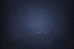 Nachthemel met sterren Stock Foto's