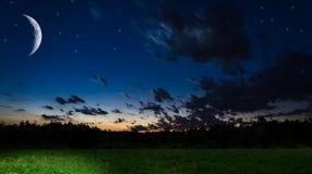 Nachthintergrund Lizenzfreies Stockfoto
