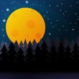 Nachthintergrund Stockbilder