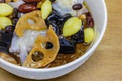 Nachtisch der chinesischen Art Stockbild