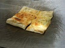 Nachtisch des gebratenen Brotes Stockfotos