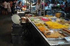 Nachtisch-Shop Stockfoto