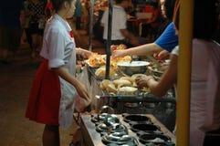 Nachtisch-Shop am Straßenrand Lizenzfreies Stockfoto