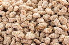 Nachtisch-Snackbälle des indischen Sesams Stockfoto